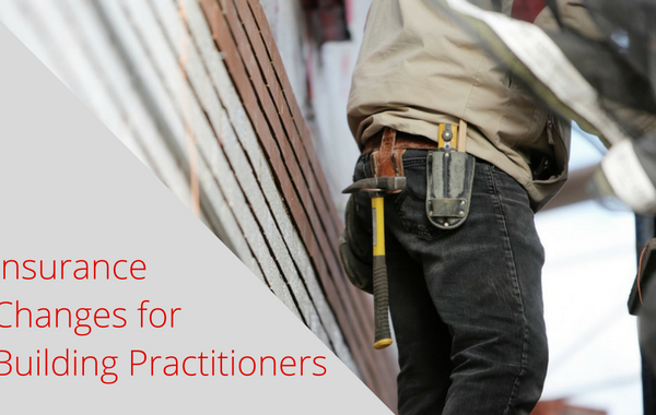 Insurance Changes for Building Practitioners